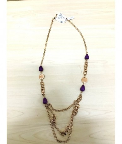 ESSENTIAL JEWELS Gold colored necklace