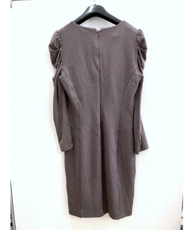 PATRIZIA PEPE Woman dress size 46 dove color