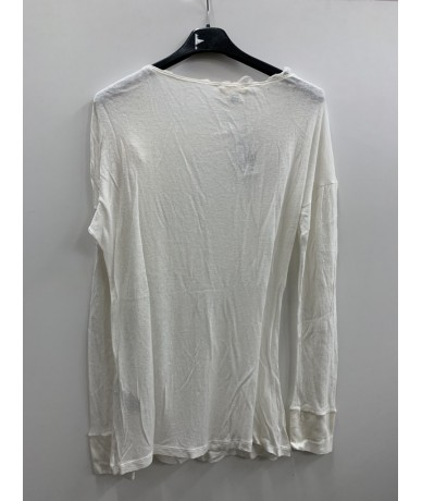 SCERVINO Street Wool and silk sweater white color tg. 46