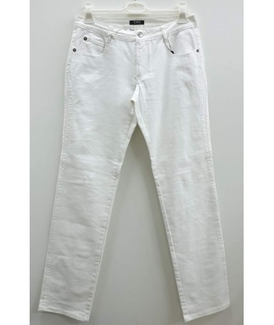 CNC COSTUME NATIONAL Women's trousers size 46 white color