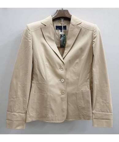 LES COPAINS Woman jacket beige color tg. 44