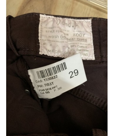DONDUP Woman jeans size 29 (it 43)