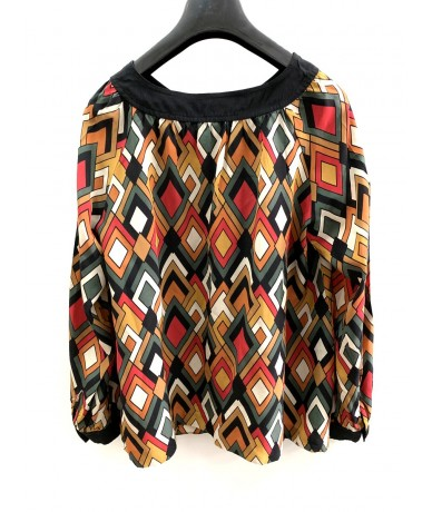 MISSONI Silk shirt top tg. 42 vintage