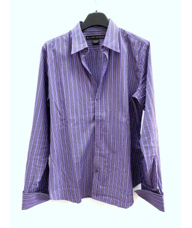 RALPH LAUREN Striped shirt size 10 (it 42)