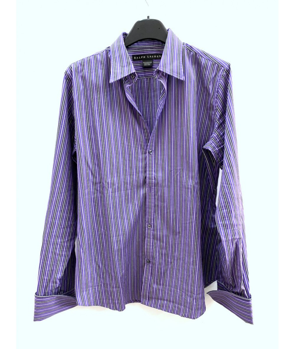 RALPH LAUREN Camicia a righe tg. 10 (it 42)