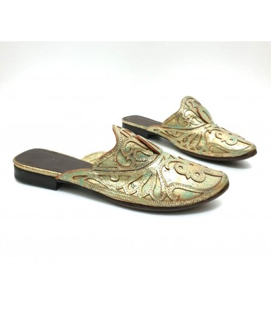 GIANNI BARBATO Shoes sandals in leather tg. 37