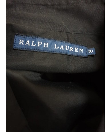 RALPH LAUREN Shirt tg. 10 (it 42) black color