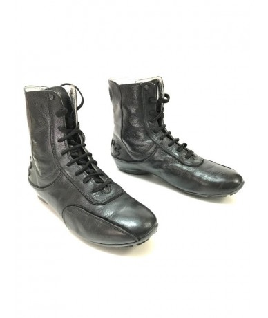 COSTUME NATIONAL Men's ankle boots shoes size 43 black leather