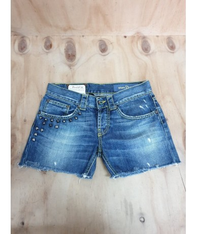 DONDUP hotpants size 26 medium blue color