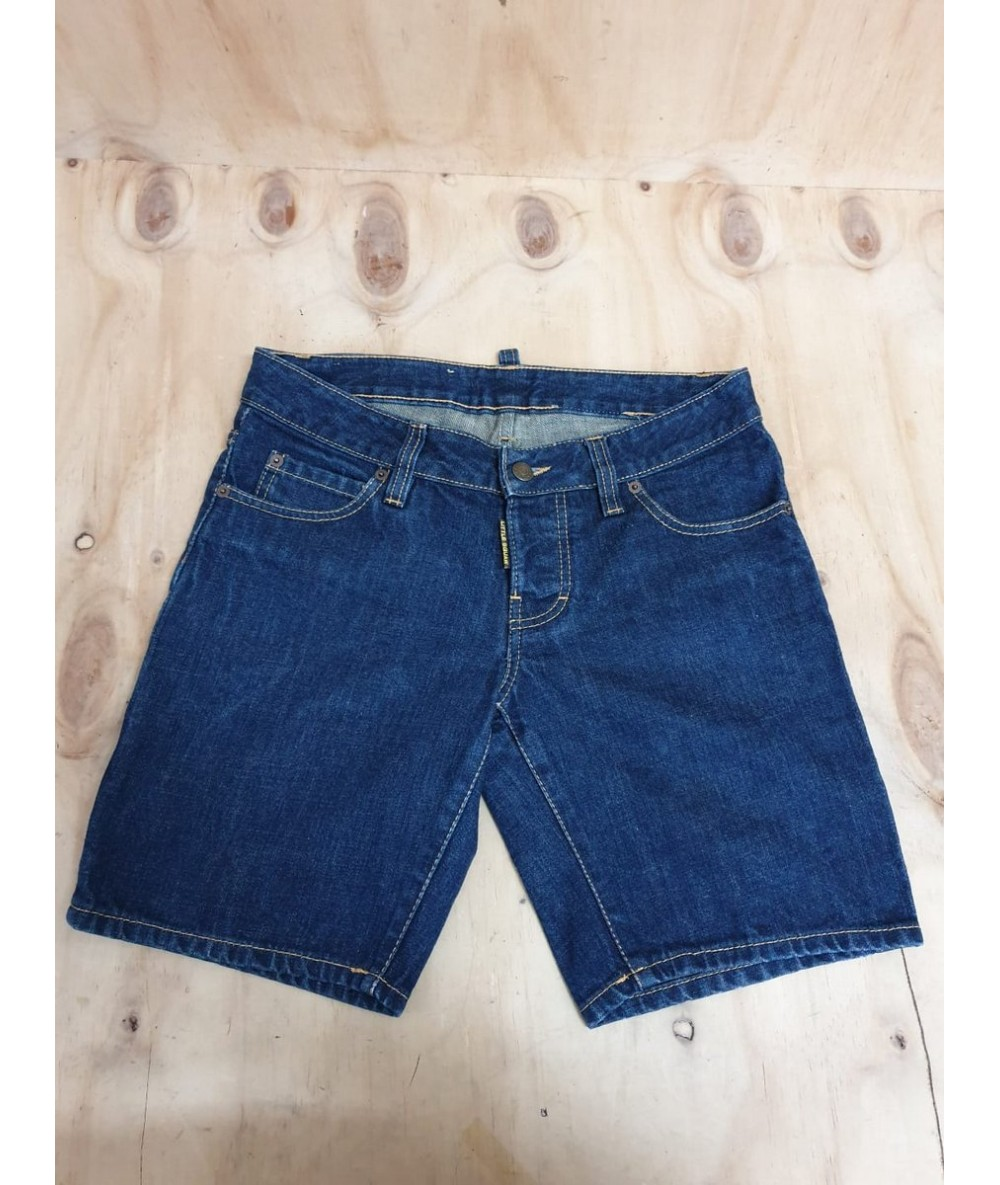 DSQUARED2 shorts in jeans uomo tg 40 fr colore blu