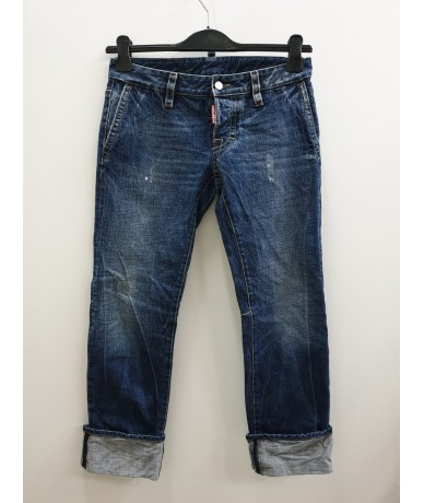 DSQUARED2 men's jeans size 42 blue color