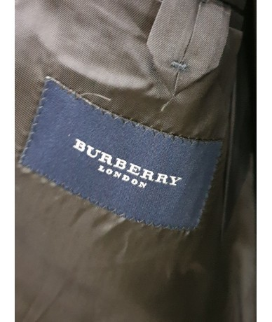 BURBERRY complete man size 48 blue striped