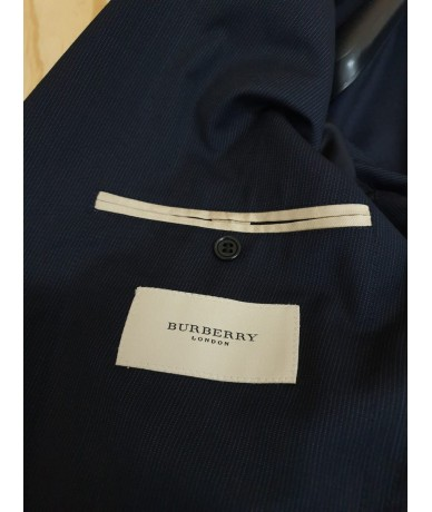 BURBERRY complete man size 54 blue with stripes