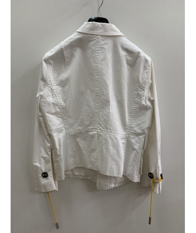 DSQUARED2 Jacket size 46 in white cotton
