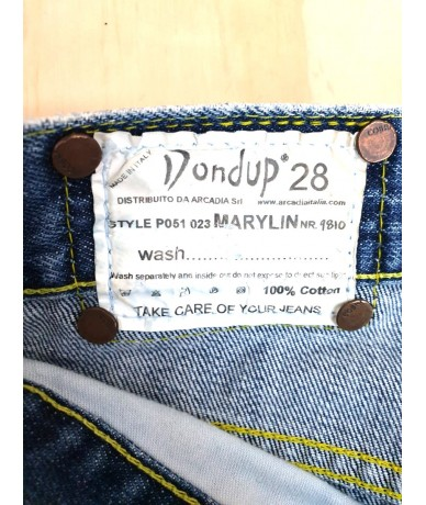 DONDUP jeans pinocchietto donna marylin tg 42