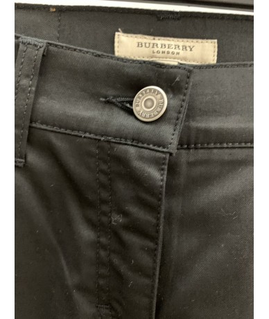 BURBERRY Woman black trousers tg. 38