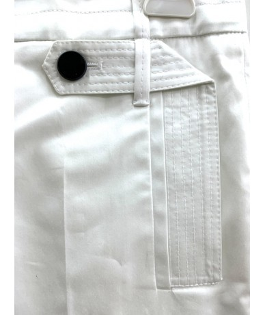 GUCCI Women's trousers size 40 white color