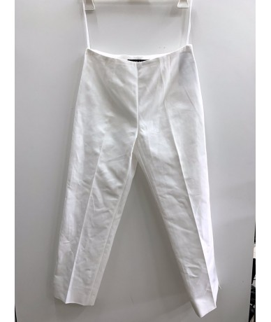 RALPH LAUREN Women's trousers size 4 (it 40) white color
