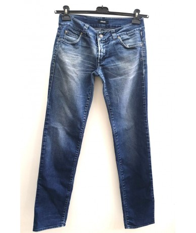 VERSACE JEANS women's denim trousers size 38
