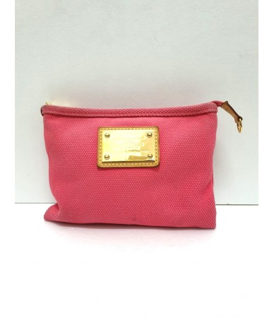 LOUIS VUITTON pink clutch bag