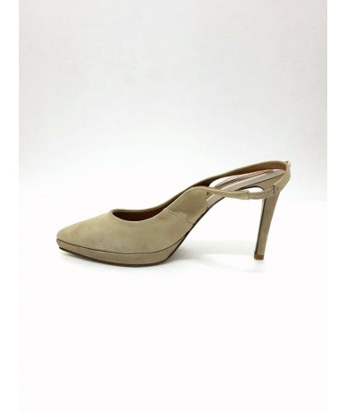 TOSCA BLU women's high-heeled shoes size 42 in suede leather