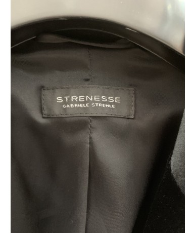STRENESSE Gabriele Strehle Giacca in Cupro colore nera tg. 44