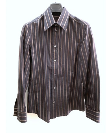 DOLCE & GABBANA Striped cotton shirt size 44