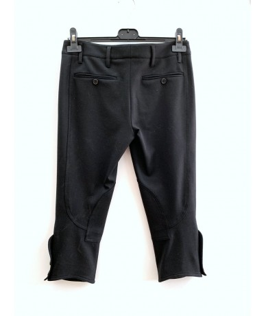 PRADA women's short pants size 38 in black wool