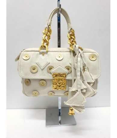 LOUIS VUITTON Canvas Pois Panama Tinkerbell LTD ED
