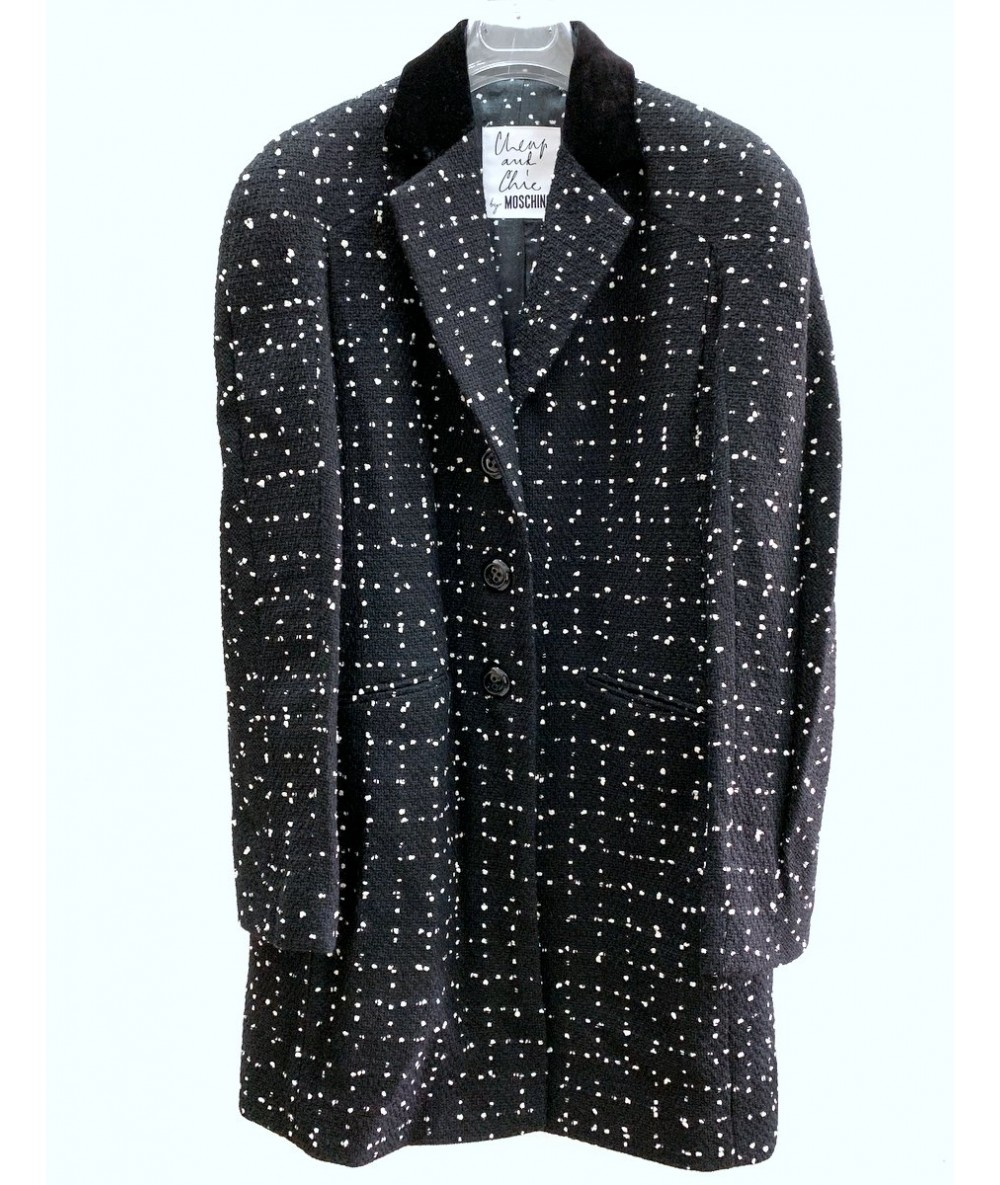 Moschino Cheap and Chic Cashmere coat tg. 46