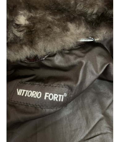 Vittorio Forti Woman jacket in cow leather size 42