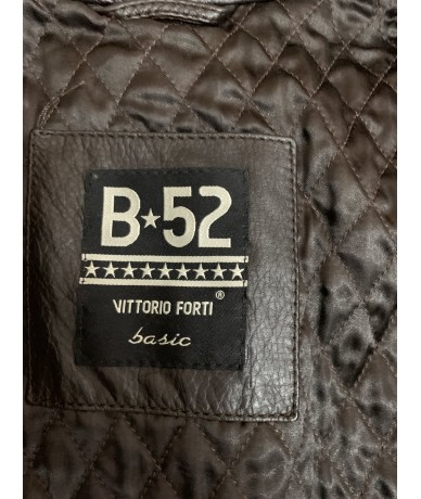 b-52 by Vittorio Forti Jacket in brown leather tg. 44