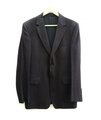 FUTURE men's suit tg 50 in pure wool with microtrama brown color