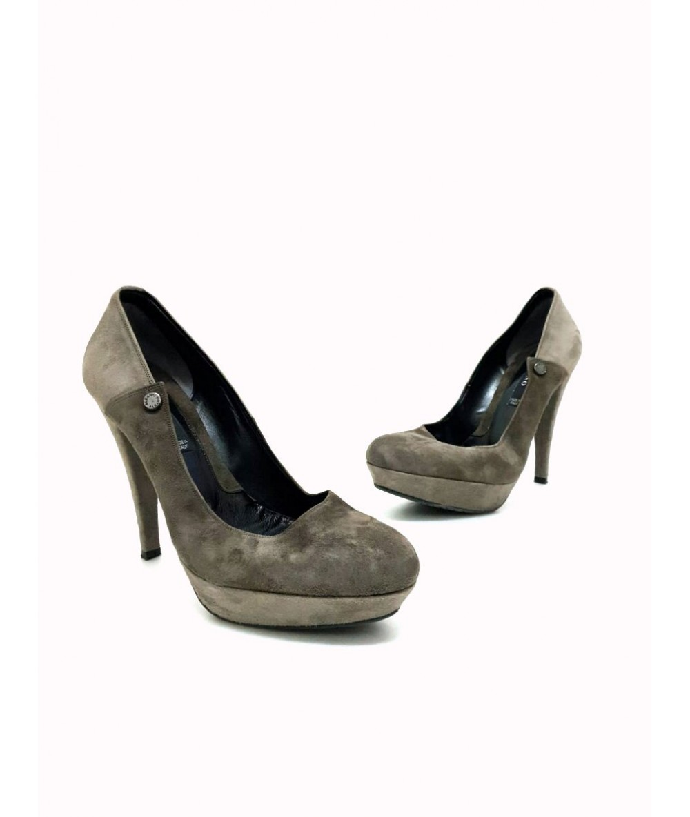 Albano women's shoes size 38 in suede