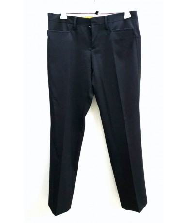 Dsquared2 women's trousers size 40 in black wool