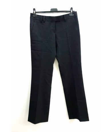 Mauro Grifoni women's trousers size 44 in black wool