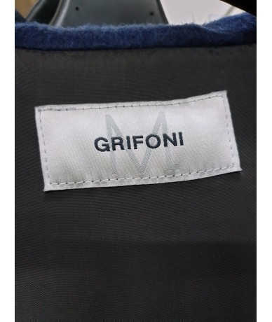 Mauro Grifoni women's sweatshirt size 44 in blue acrylic and polyester