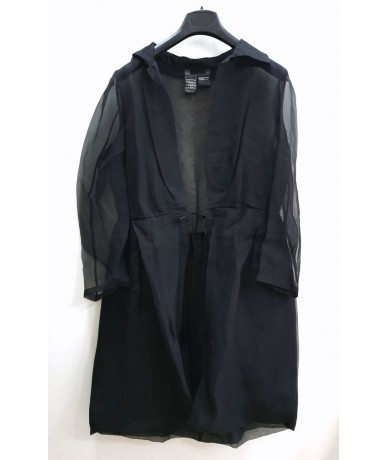 Max Mara cardigan in pure silk size 46 black color