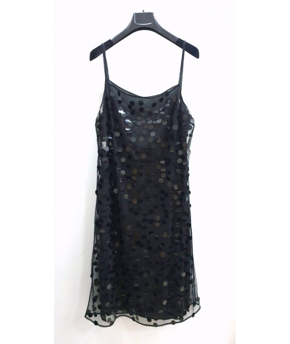 Moschino Cheap and Chic woman dress in polyester sz 46 black color