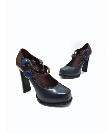 Louis Vuitton women's shoes size 39 in real leather