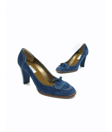 Philosophy of Alberta Ferretti suede shoes size 37.5