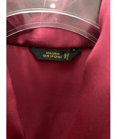 Mauro Grifoni silk shirt size 46 red color