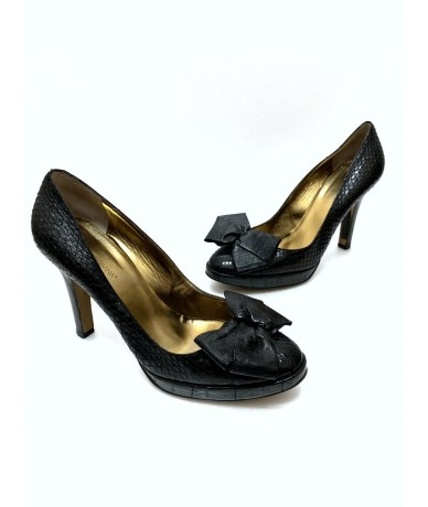 Dolce & Gabbana shoes in real reptile black color no. 39.5