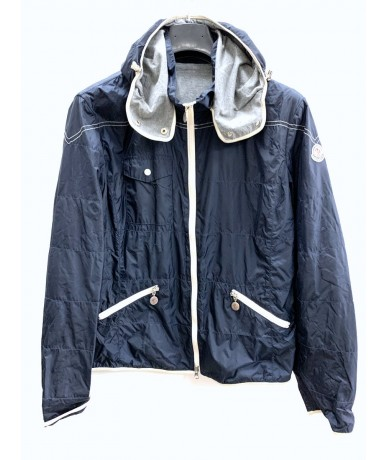 Moncler Woman jacket size 5 blue color