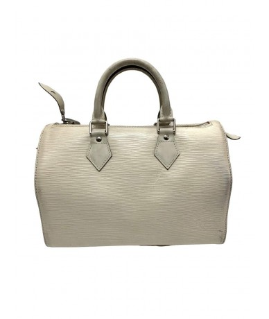 Louis Vuitton top case in white epi leather