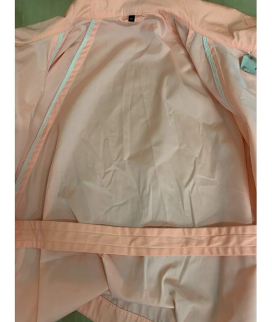 Fay jacket in polyester, size M, peach color