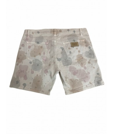 See by Chloè shorts donna tg. 44 beige caumuflage