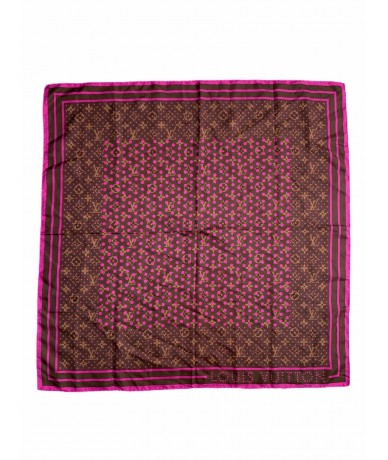 Louis Vuitton foulard in seta monogram