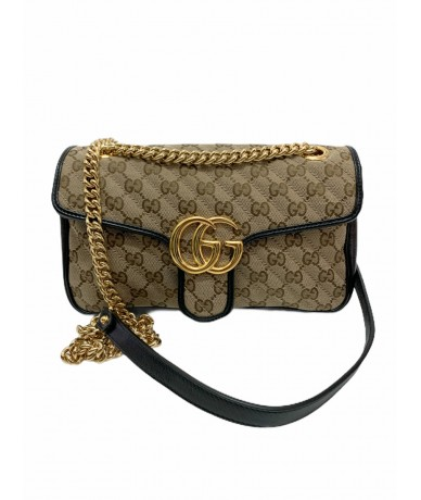 Gucci marmont bag in monogram canvas