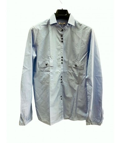 Golden Goose woman shirt in cotton sz. The blue color